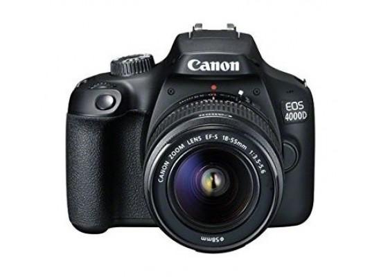 Canon EOS4000D  18-55DC lens