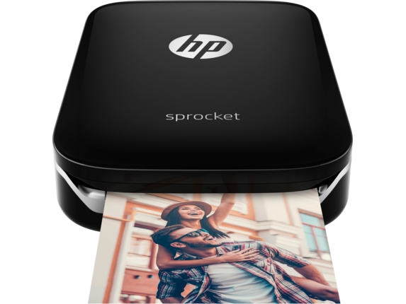 HP Sprocket Photo printer- Black