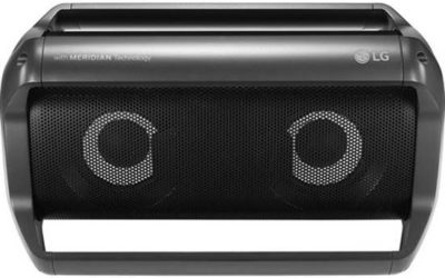 LG PK5 Portable Bluetooth Speaker with Meridian Technology