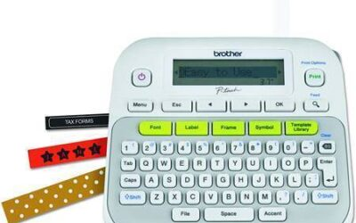 BROTHER P-TOUCH PTD210   Easy to use Label Maker